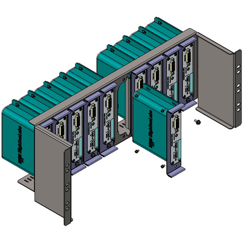 High Sec Labs 4 RU Rack Mount Kit for Ten HxS100I Isolators