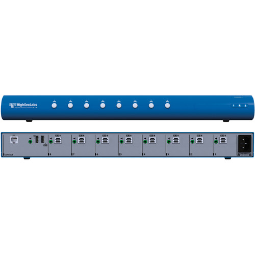 High Sec Labs SM80N-3 Secure 8-Port KM Switch