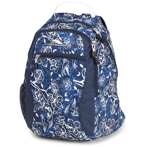 High Sierra Curve Backpack (Enchanted/True Navy/White)