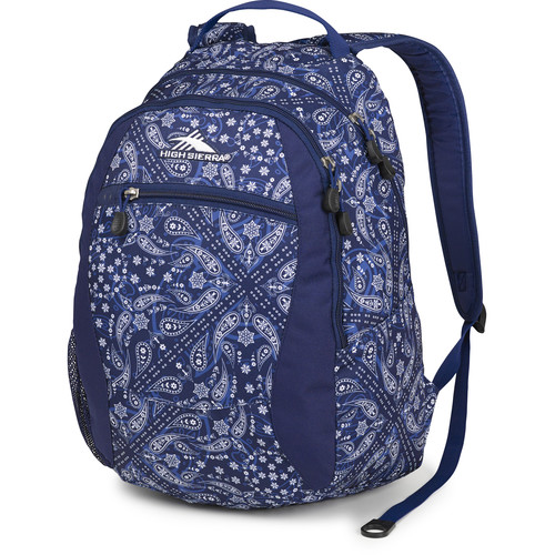High Sierra Curve Backpack (Bandana / True Navy)