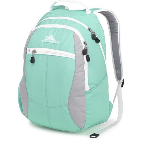 High Sierra Curve Backpack (Aquamarine / Ash / White)