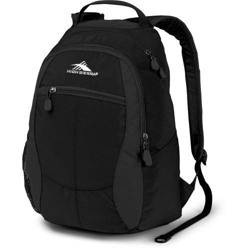 High Sierra Curve Backpack (Black)