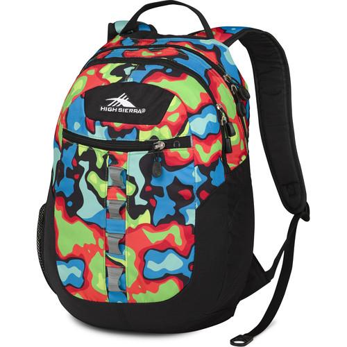High Sierra Opie Backpack (Heat Map / Black)