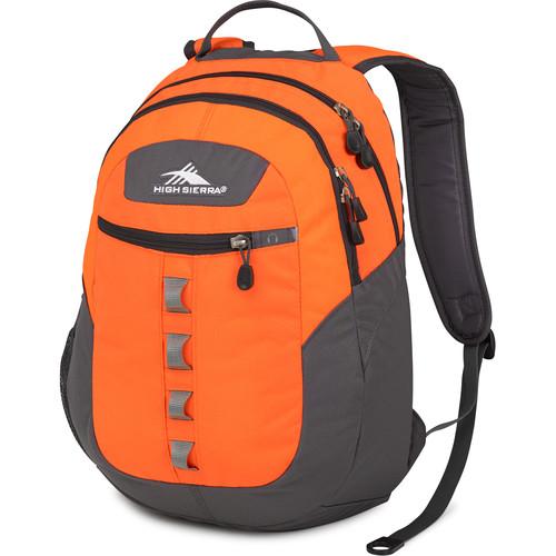 High Sierra Opie Backpack (Electric Orange / Mercury)