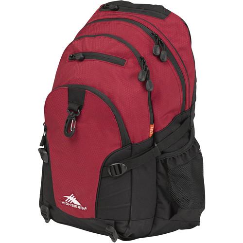 High Sierra Loop Backpack (Brick / Black)
