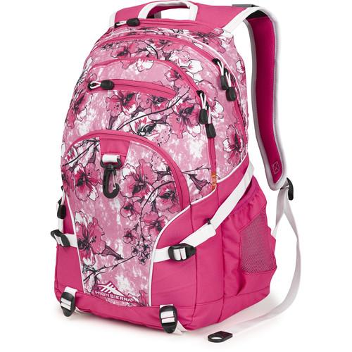 High Sierra Loop Backpack (Summer Bloom / Fuchsia / White)