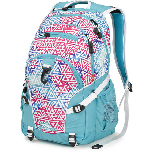 High Sierra Loop Backpack (Galaxy Tribe / Teal / White)
