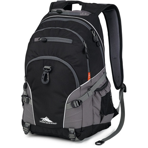 High Sierra Loop Backpack (Black / Charcoal)