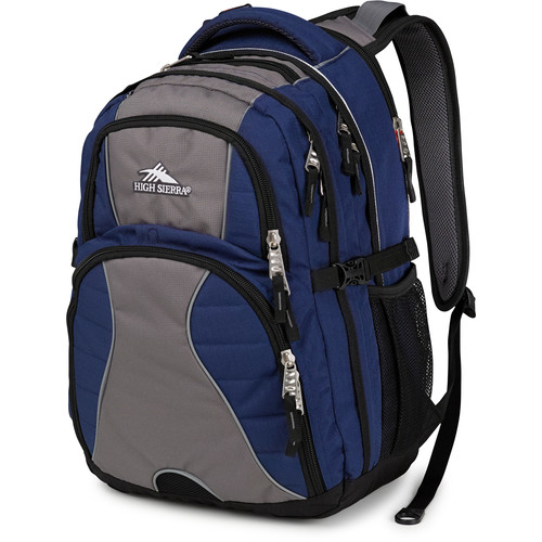 High Sierra Swerve Backpack (True Navy / Charcoal / Black)