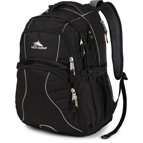 High Sierra Swerve Backpack (Black)