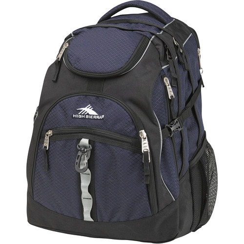High Sierra Access Backpack (Midnight Blue / Black)