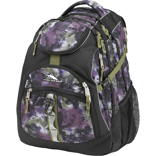 High Sierra Access Backpack (Forest / Black / Moss)