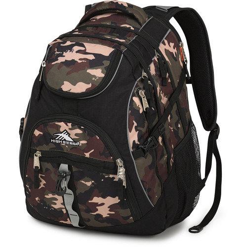High Sierra Access Backpack (Whamo Camo / Black)