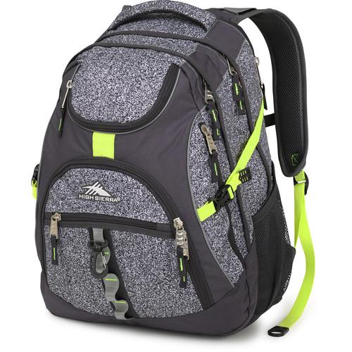 High Sierra Access Backpack (Static / Mercury / Zest)