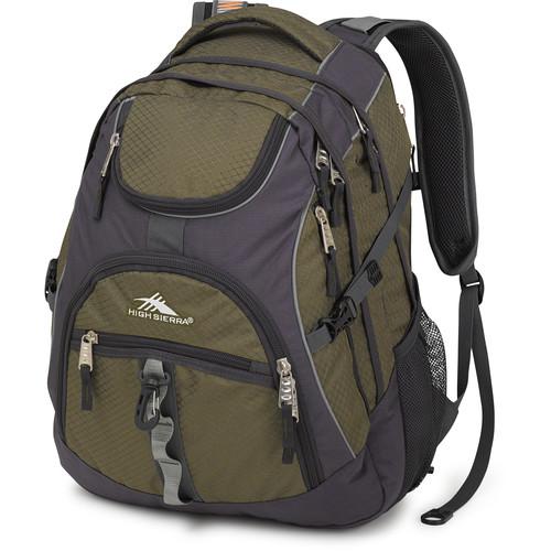 High Sierra Access Backpack (Moss / Mercury)