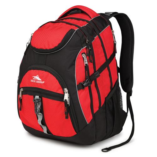High Sierra Access Backpack (Crimson / Black)