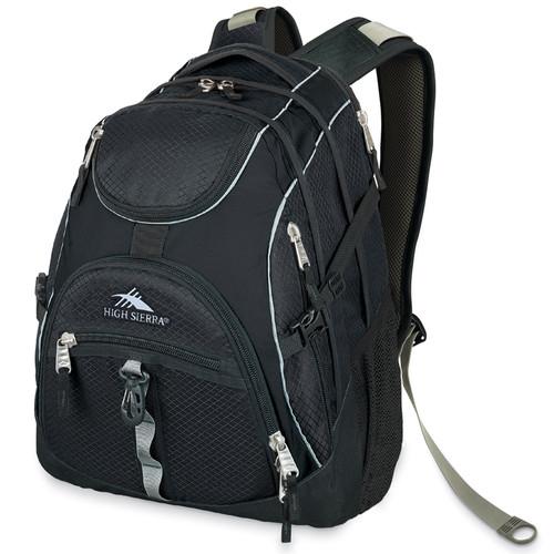 High Sierra Access Backpack (Black)