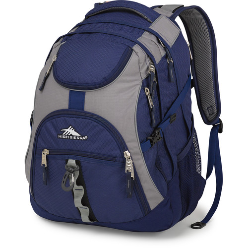 High Sierra Access Backpack (True Navy / Charcoal)