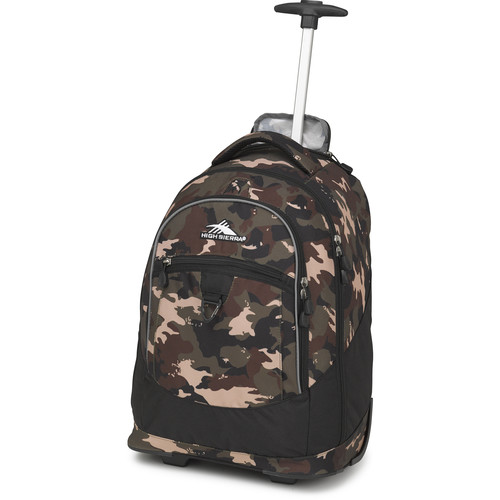 High Sierra Chaser Wheeled Backpack (Whamo Camo / Black)