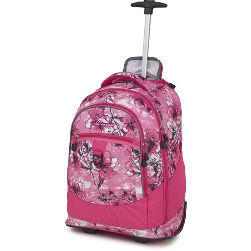 High Sierra Chaser Wheeled Backpack (Summer Bloom / Fuchsia)