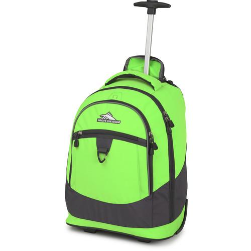 High Sierra Chaser Wheeled Backpack (Lime / Mercury)