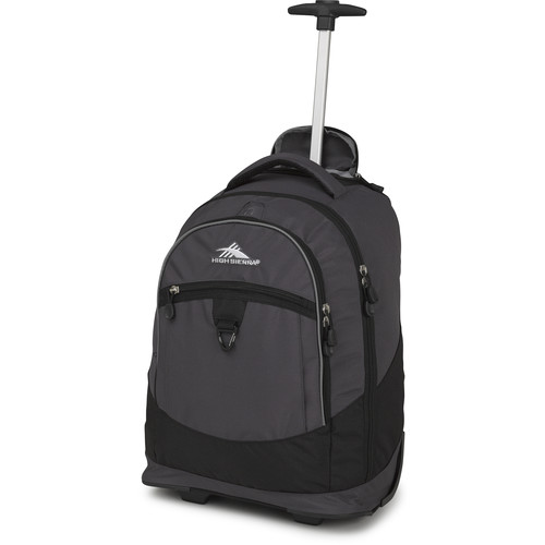 High Sierra Chaser Wheeled Backpack (Mercury / Black)