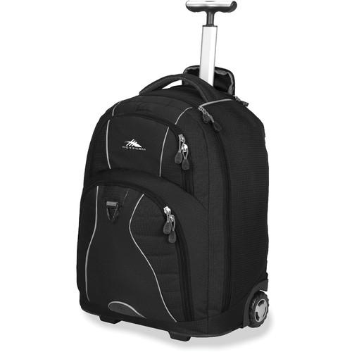 High Sierra Freewheel Wheeled Backpack (Black / Black)