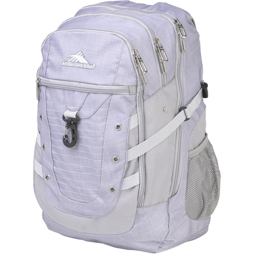 High Sierra Tactic Backpack (Gray / Ash / Silver)