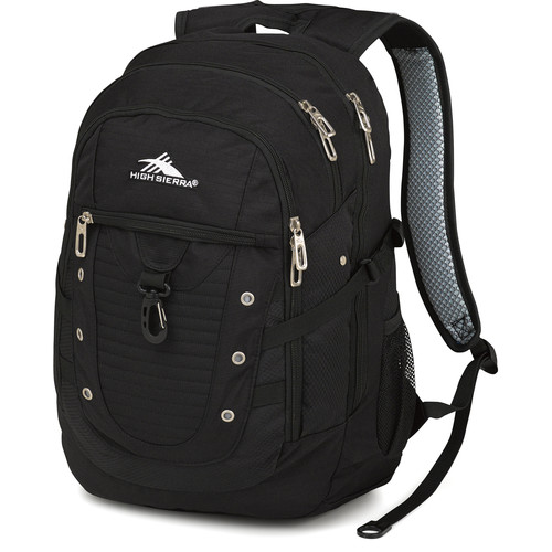 High Sierra Tactic Backpack (Black)