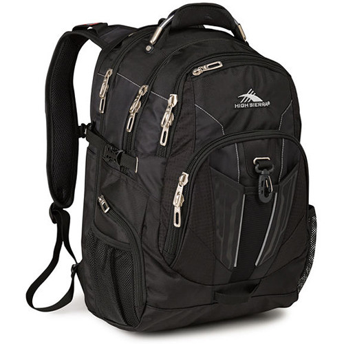 High Sierra XBT TSA Backpack (Black)
