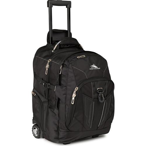 High Sierra XBT Wheeled Backpack (Black)