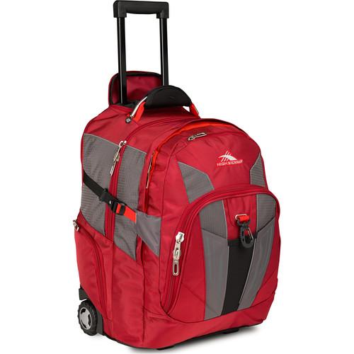 High Sierra XBT Wheeled Backpack (Carmine / Redline / Black)