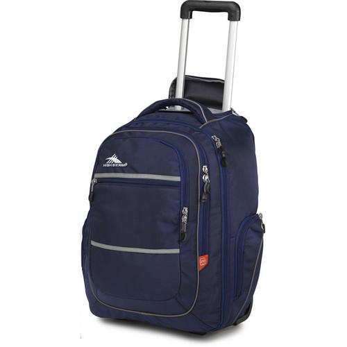 High Sierra Rev Wheeled Backpack (True Navy / Charcoal / Black)