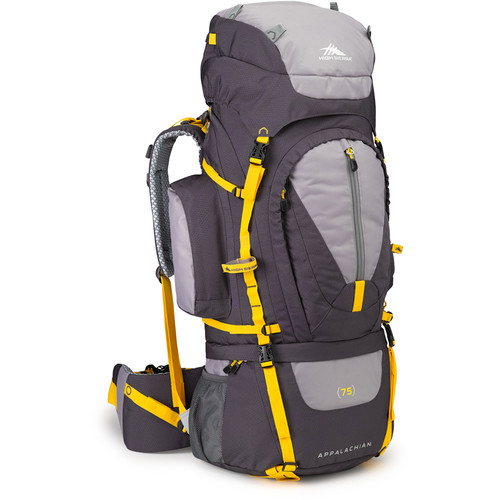 High Sierra Appalachian 75 Internal Frame Pack (Mercury / Ash / Yellow)