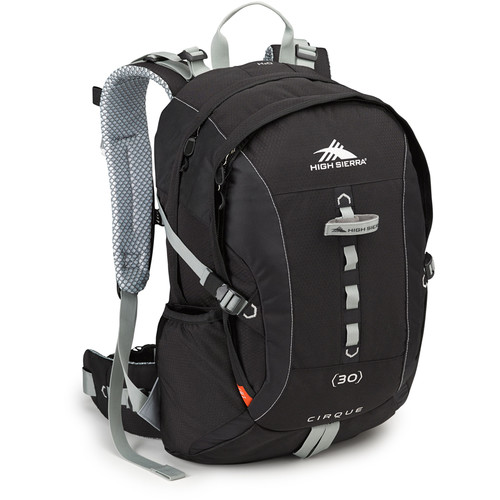 High Sierra Cirque 30 Day Pack (Black / Silver)