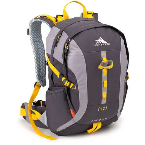 High Sierra Cirque 30 Day Pack (Mercury / Ash / Yellow)