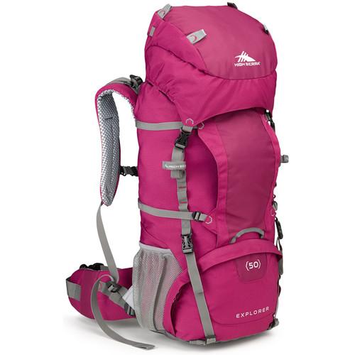 High Sierra Women's Explorer 50 Internal Frame Pack (Boysenberry, Ash)