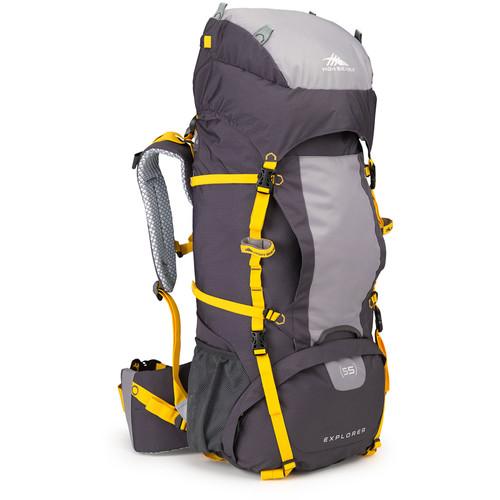 High Sierra Explorer 55 Internal Frame Pack (Mercury / Ash / Yellow)