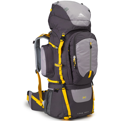 High Sierra Long Trail 90 Internal Frame Pack (Mercury, Ash, Yell-O)