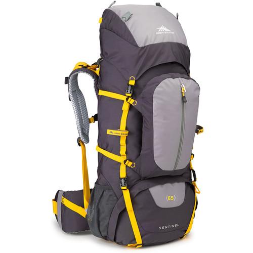 High Sierra Sentinel 65 Internal Frame Pack (Mercury / Ash / Yellow)
