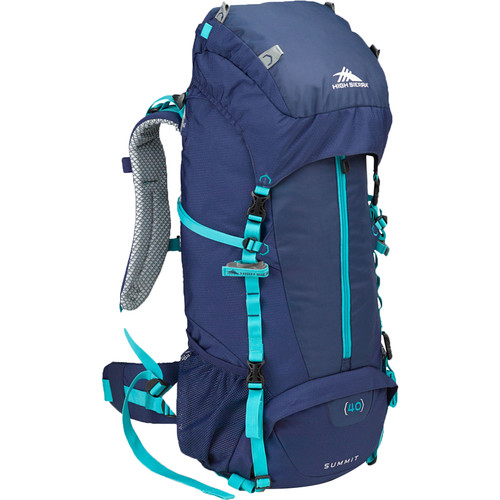 High Sierra Women's Summit 40 Internal Frame Pack (True Navy, Tropic Teal)