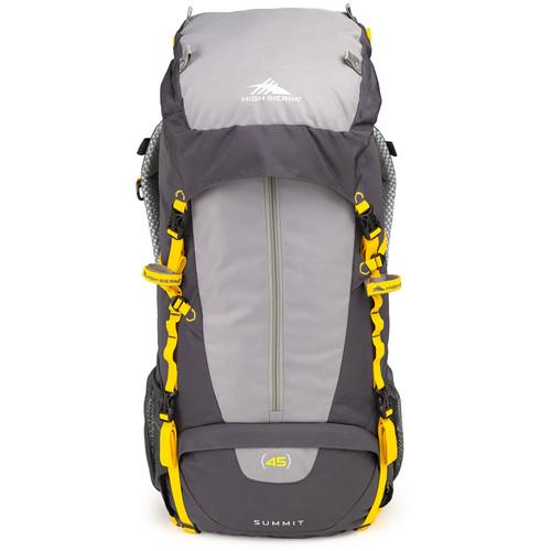High Sierra Summit 45 Internal Frame Pack (Mercury / Ash / Yellow)