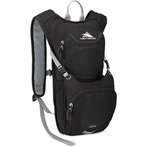 High Sierra Quickshot 70 Hydration Pack (Black / Silver)