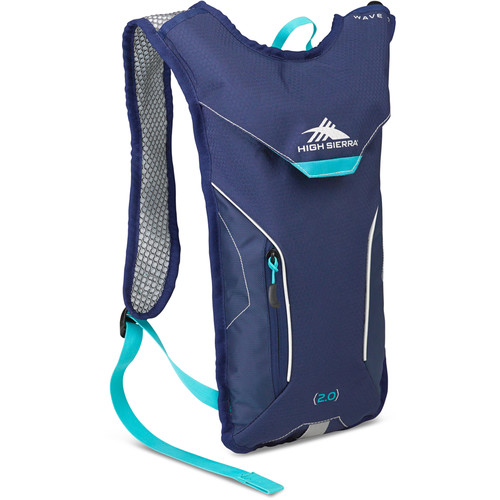 High Sierra Wave 70 Hydration Pack for Women (True Navy/Tropic Teal)