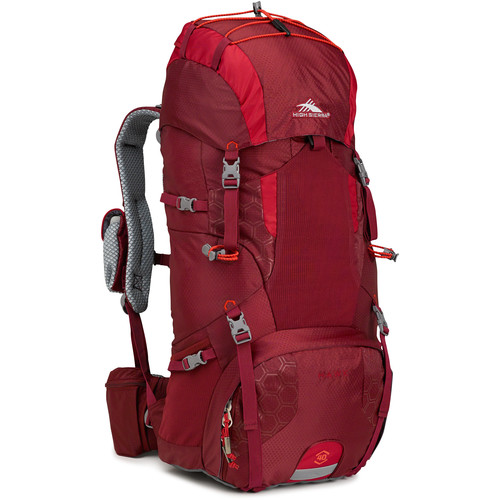 High Sierra Hawk 40 Internal Frame Pack (Brick / Carmine / Redline)