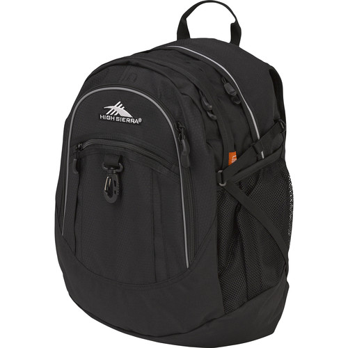 High Sierra Fatboy Revamp Backpack (Black)