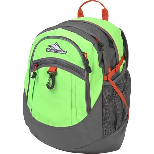 High Sierra Fatboy Revamp Backpack (Lime/Slate/Redline)