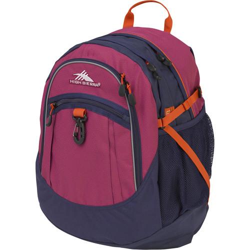 High Sierra Fatboy Revamp Backpack (Razzmatazz/True Navy/Redline)