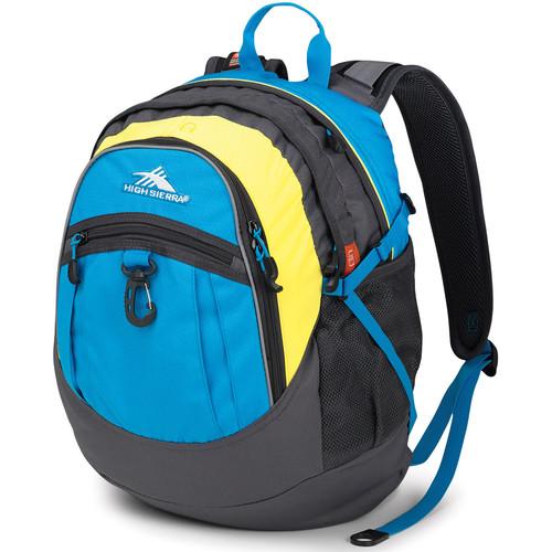 High Sierra Fatboy Revamp Backpack (Pool / Mercury / Sunburst)