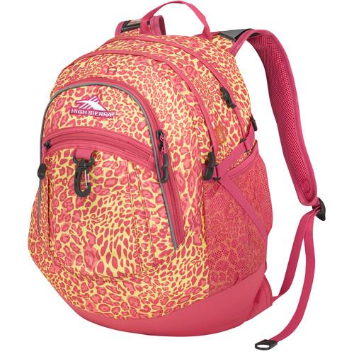 High Sierra Fatboy Revamp Backpack (Leopard / Fuchsia)